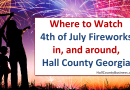 Hall County – Where To Watch 4th of July Fireworks