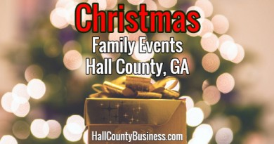 Hall County Holiday Events & Activities – Where To Take The Family for Christmas Fun