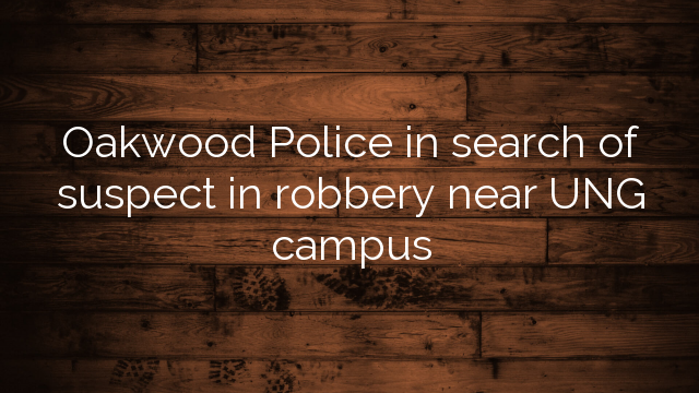 Oakwood Police In Search Of Suspect In Robbery Near Ung